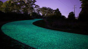 Gosford glow in dark path