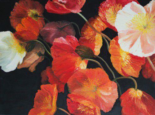 Poppy Pandemonium by Jan Matson