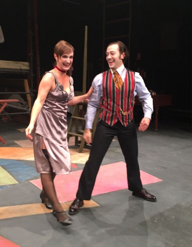 Helen McFarlane as Jenny Diver and Tim Sekuless as Mack the Knif