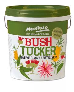 """""""Bush Tucker""""... a new fertiliser for native plants."""