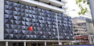 colour on mayfair building