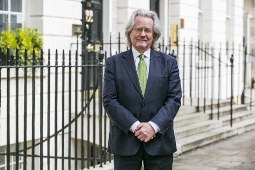 British author AC Grayling