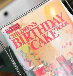 The birthday cake book.