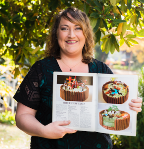 """Christine Spicer... """"I personally love the duck cake, though it's controversial because of the savoury bill."""" Photo by Andrew Finch"""