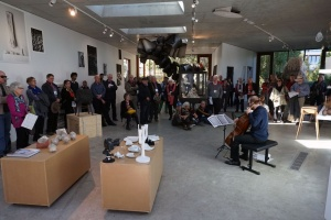 In the Nishi Gallery, photo Peter Hislop