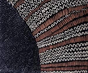 Lena Nyadby, 'Starry Night in Jimbirla and Dayiwool Country', 2015, Etching. Printer: Basil Hall