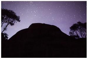Rosario López, Unfolding Memories, Uluru series, 2015, inkjet pigment print, 50x50cm