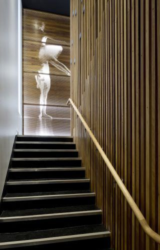 Art in Architecture Award, Kim Harvey School of Dance, Clarke Keller, photo Angus Martin