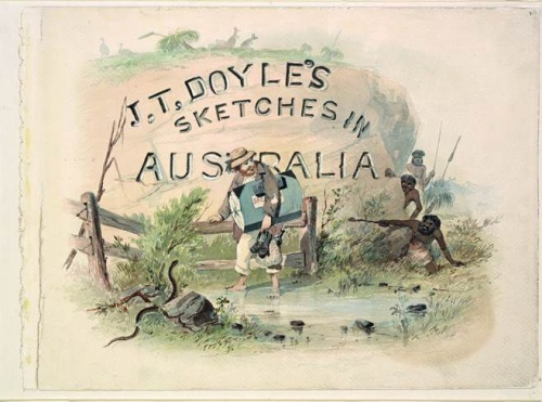 J.T. Doyle's sketches in Australia c. 1862–1863, State Library of New South Wales