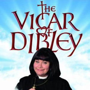 Dawn French as the TV Vicar