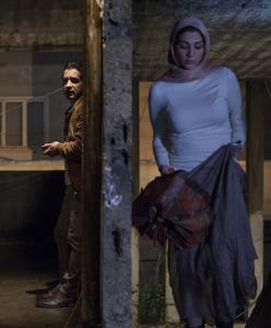 "Hussein Mokadem and Zeinab Hind Khadra in ""Halal Love""."