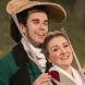 "Jeremy Kleeman as Figaro and Celeste Lazarenko as Susanna in Opera Australia's ""The Marriage of Figaro"". Photo by Albert Comper."