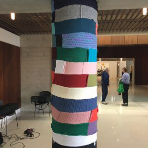 Dan Edwards' woolly pole