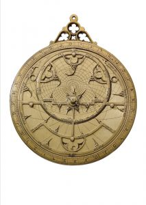 12th century astrolabe, at the NMA