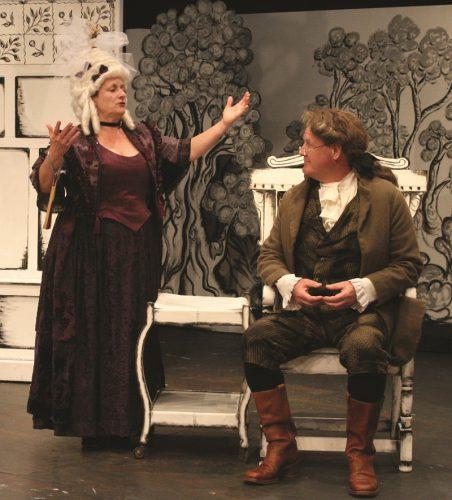 Elaine Noon (Mrs Hardcastle) and  Jonathan Pearson(Mr Hardcastle