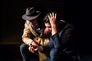Andrew McMillan, Cole Hilder as the two detectives. Photo by Michael Jackson-Rand