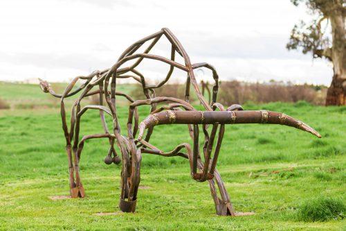 Tobias Bennett's  work 'Rampage'