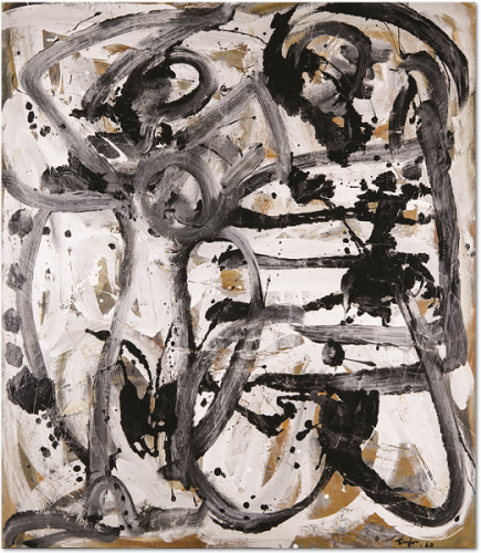 'Mother and Son' 1963, Newcastle Art Gallery