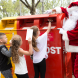 In the box, kids… Santa resists the opportunity of accepting letters from children.
