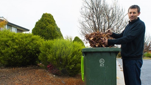 Belconnen residents can soon apply for a green bin
