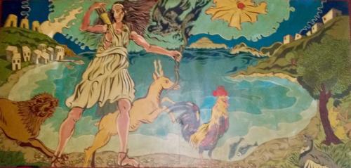 Winters' Diana Disco mural.