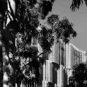'Melbourne School of Design' at The University of Melbourne in Parkville, Melbourne, designed by JWA and NADAAA in collaboration in 2014. Photograph by Erieta Attali