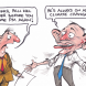 Abbott Freeze - Paul Dorin Cartoon