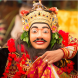 Topeng (masked) dancer from Bali