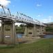 Tharwa Bridge... closed weekdays until October 19.