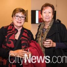 Viv Pearce and Sharyn Baxendell