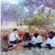 Albert Namatjira, artist Rex Battarbee and Namatjira family, Photo Courtesy Gayle Qarmby