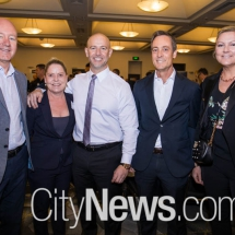 David Shearer, Kate Gallegos, Nick Georgalis, John Minns and Elle Earley