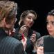 "Pippa Grandison, as Astrid, and Isha Menon, as Priya, in ""Boys Will Be Boys"". Photo by Shelly Higgs"