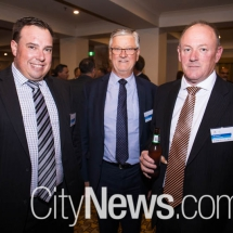 Anthony Friend, David Burger and Ian Tompsett