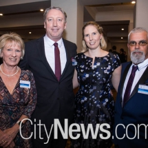 Janet Gray, Lionel Noakes, Tiffany Herring and Grag Samios