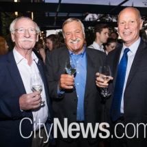 Ken Helm, Jim Trezise and Michael Nickel