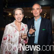 Sandra Hassett and Tim Swain