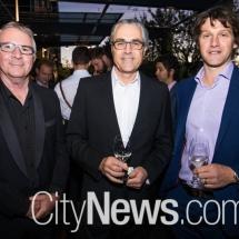 Trent Mannell, John Belsham and Steve Baraglio