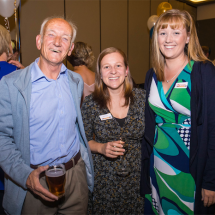 Alan Dexter, Sarah Conn and Megan Telfer