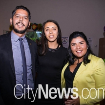 Arturo Garcia, Selin Gul Mutlucan and Stephanie Arias
