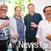 Charles Oliver, Mark Santos, Antony Hill and George Abraham