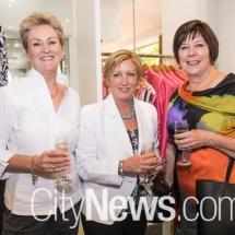 Cheryl Steele, Rhonda Davies and Adele Gordon