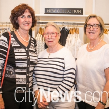 Helen Dryiw, Judy Taylor and Kathy Cousin
