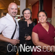 Jarrad West, Karen Vickery and Jordan Best