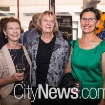 Julie Dyson, Michelle Potter and Lauren Honcope