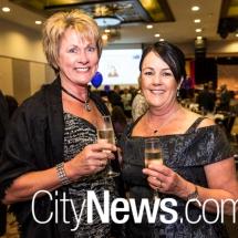 Kathy Raston and Debbie Morgan