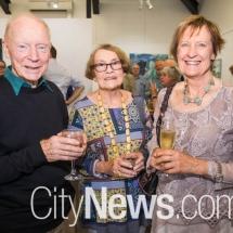 Michael Taylor, Merrilyn Crawford and Rosalie Hannink