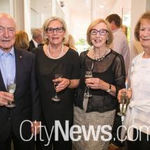 Peter Gration, Diane Hughes, Dorothy Roberts and Anne Gration