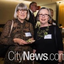 Sue Ingram and Virginia Walsh