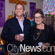 Victor Marillanca and Elaine Farmer